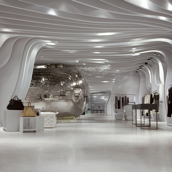 Ice atmosphere for Runway Store