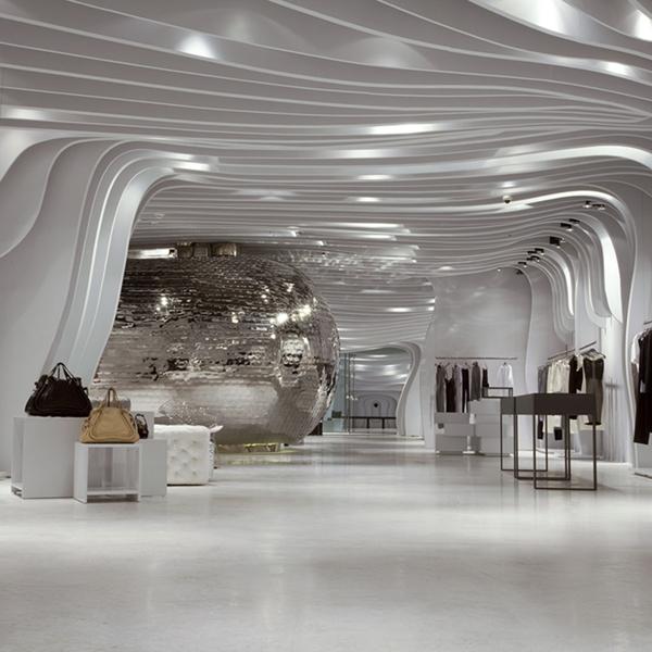 Atmosfera di ghiaccio per Runway Store