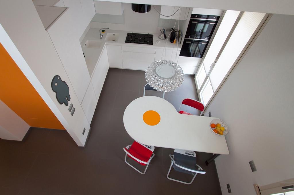 Tavolo omelette modulor - Tavoli da cucina a muro ...