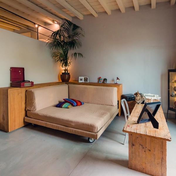 Shabby chic studio loft