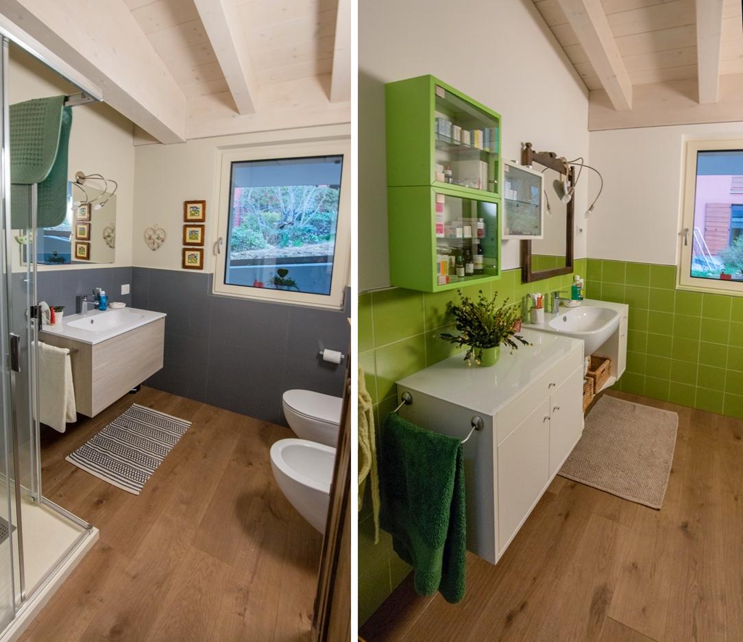 Appartamento Bergamo bagno