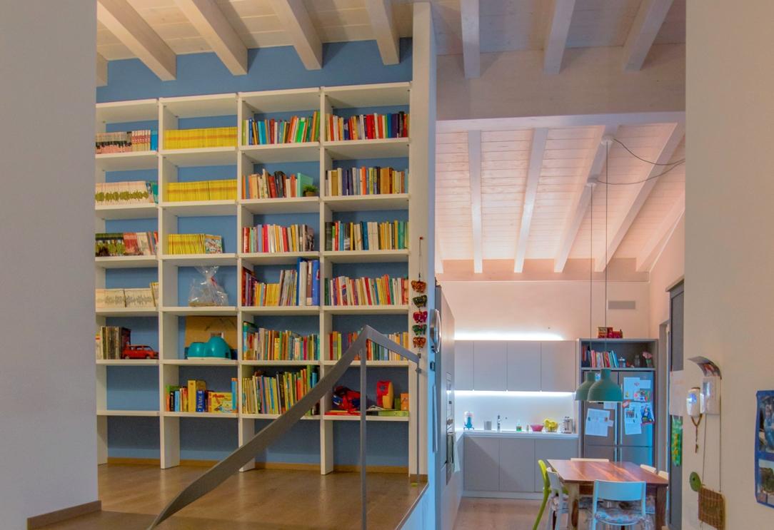 Appartamento Bergamo libreria