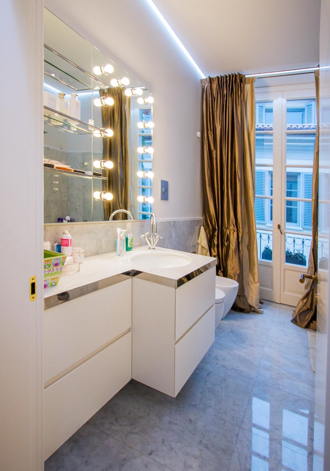 bagno secondario appartamento Milano