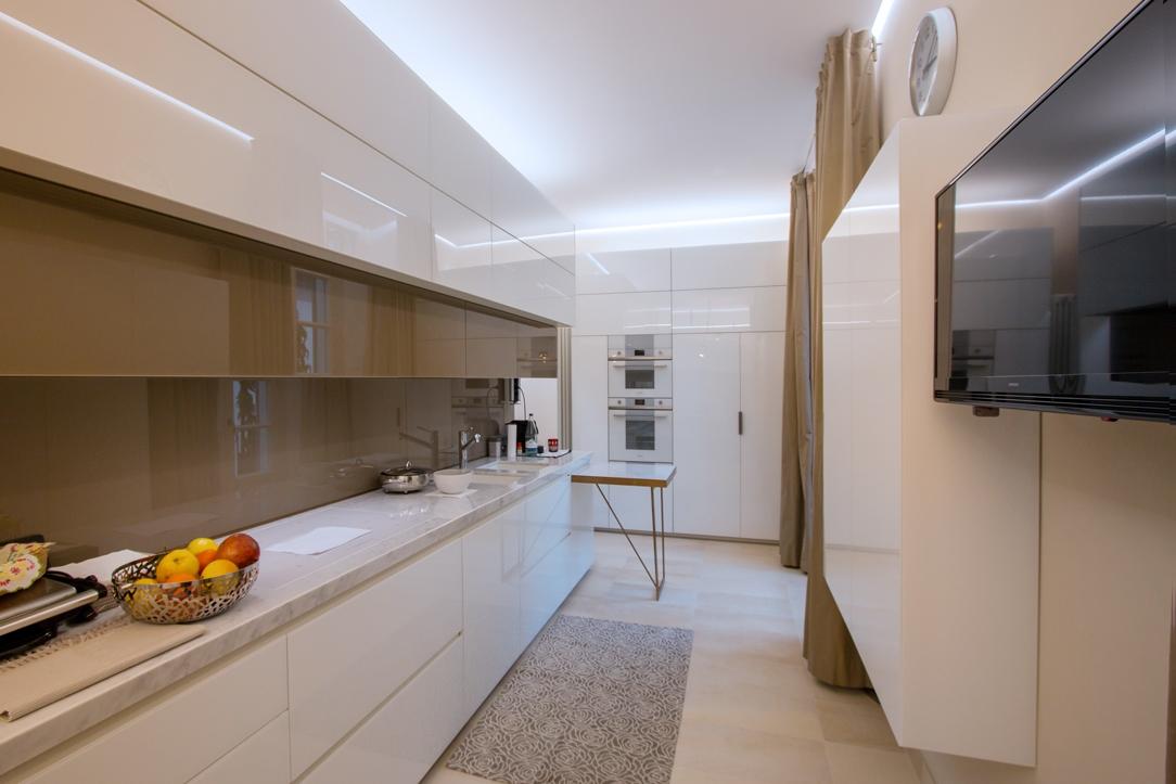 eleganza cucina appartamento Milano 02