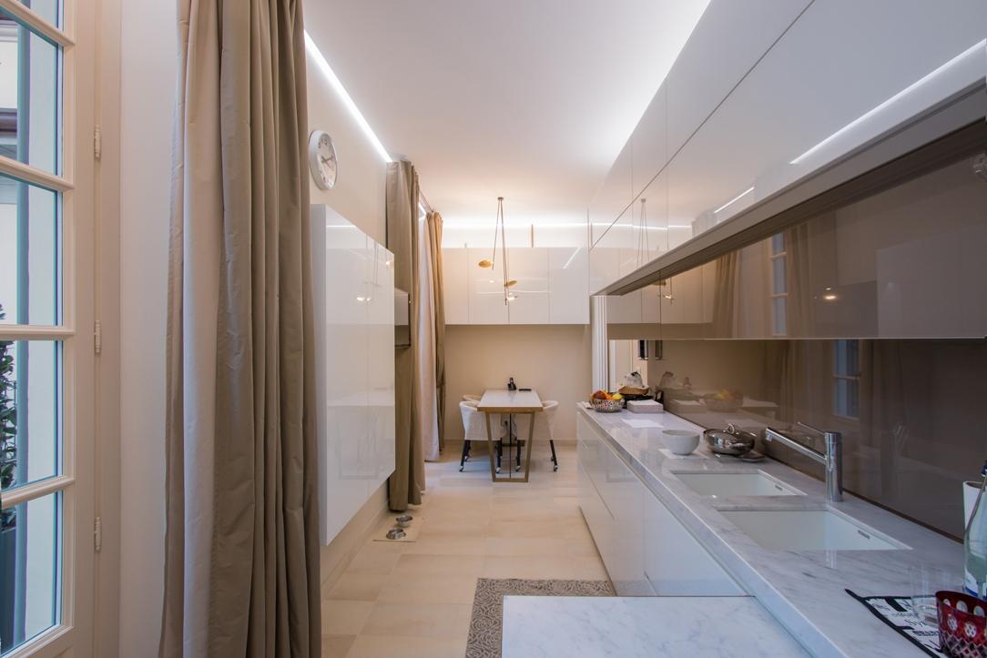 eleganza cucina appartamento Milano