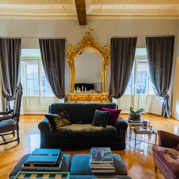 Un appartamento eclettico in stile Parigino