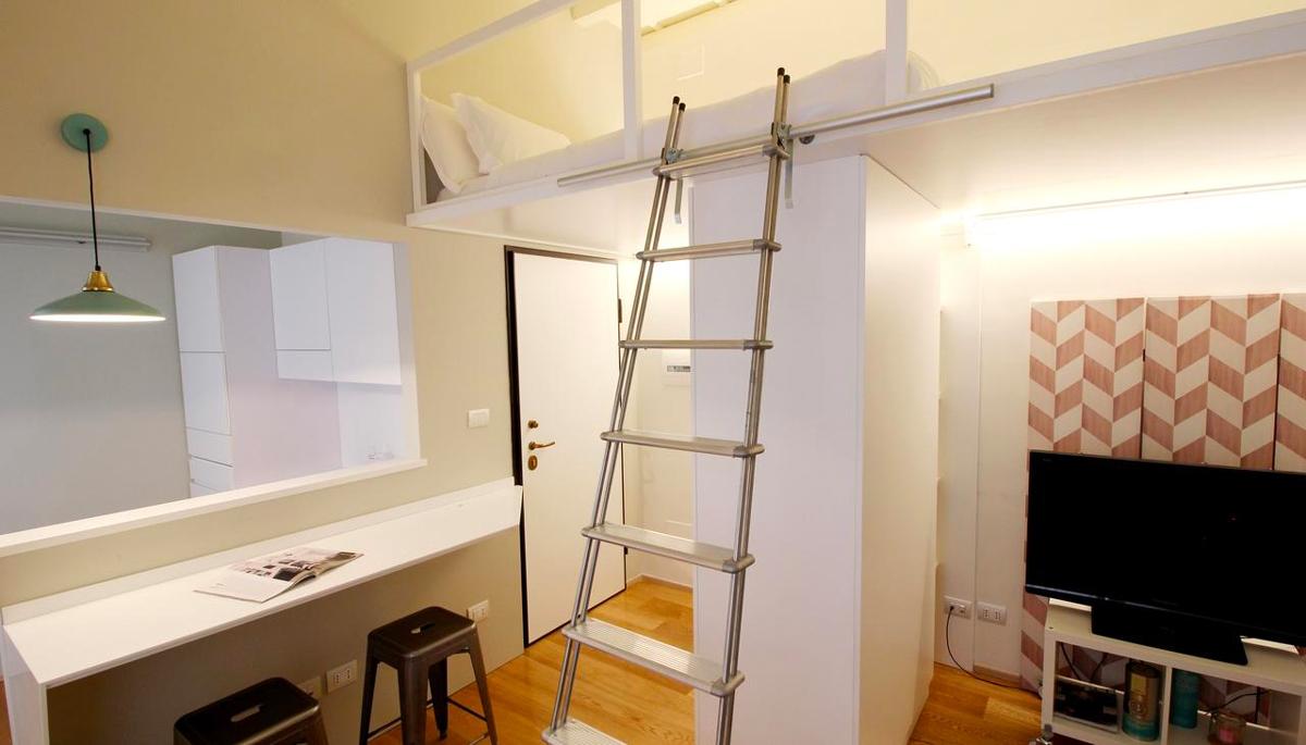 appartamento spazi ridotti Milano