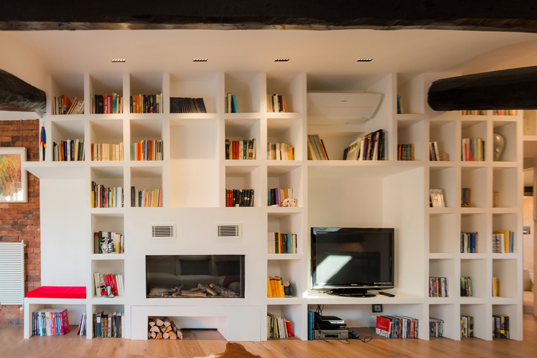Mansarda libreria