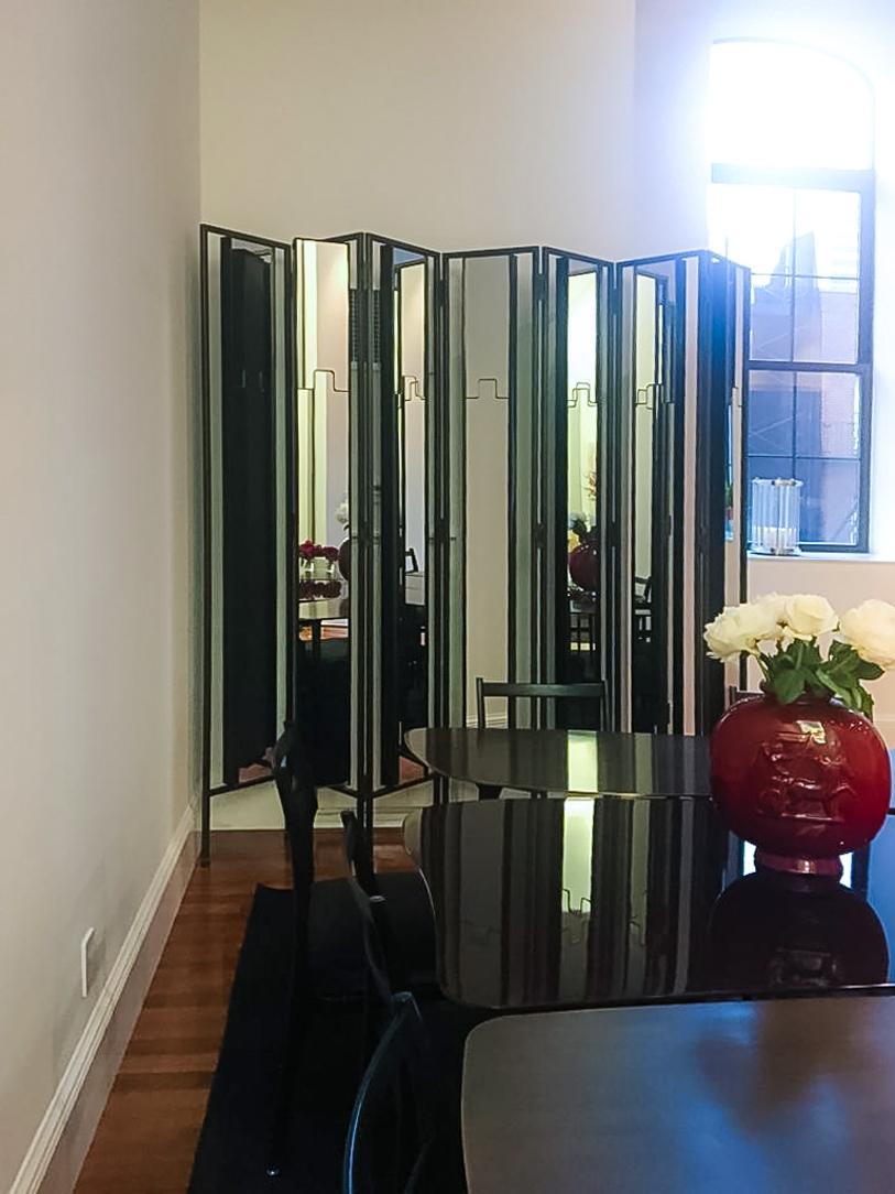 divisorio specchi verticalità