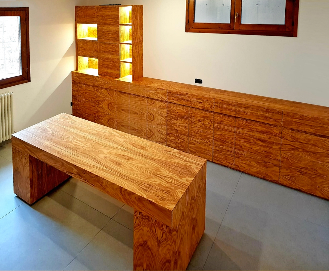olive wood office
