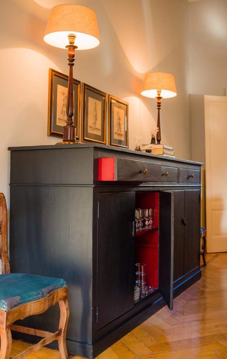 mobile zona giorno appartamento Milano
