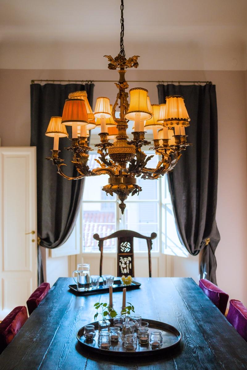 sala pranzo in stile Parigino