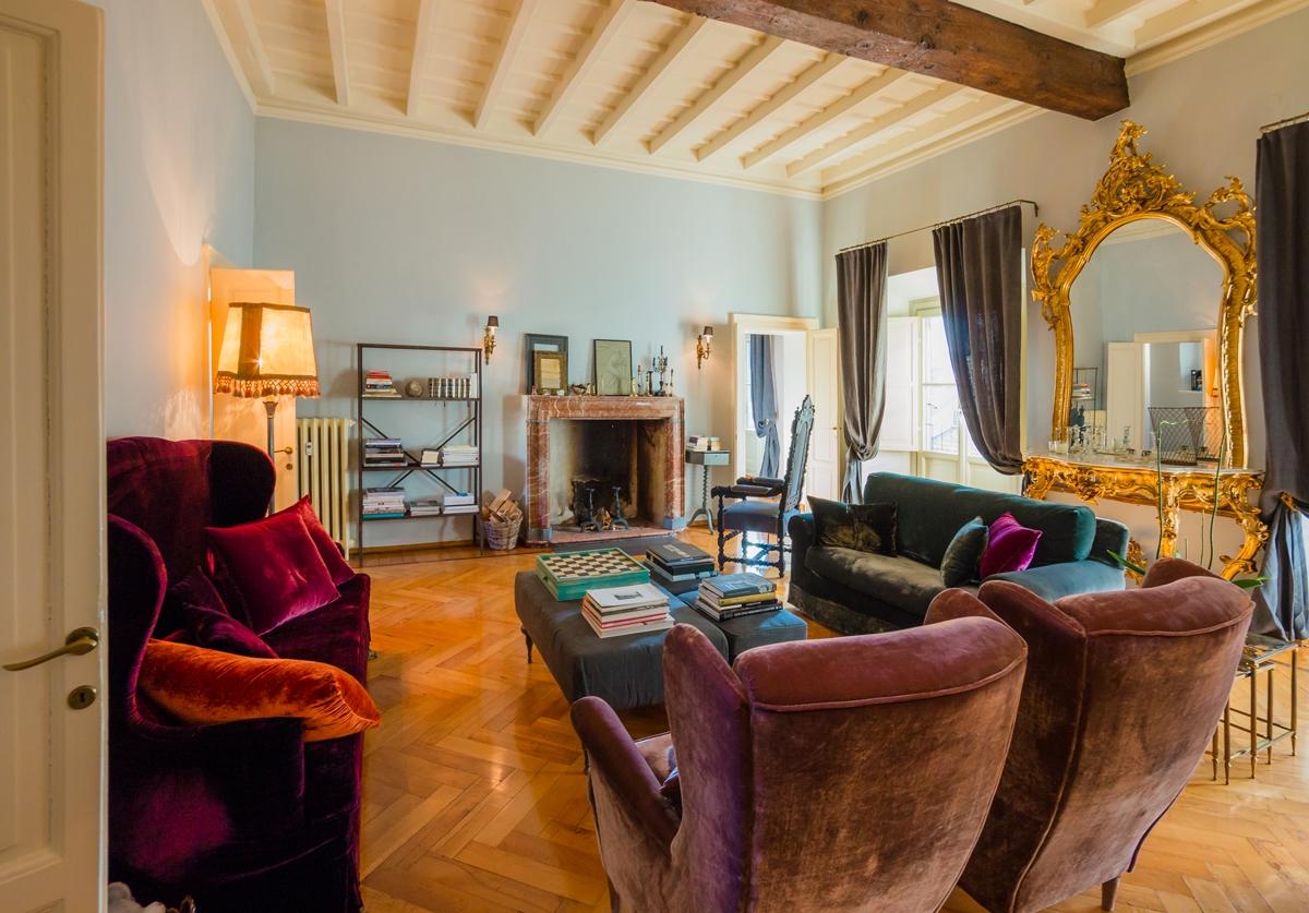 zona giorno appartamento Milano