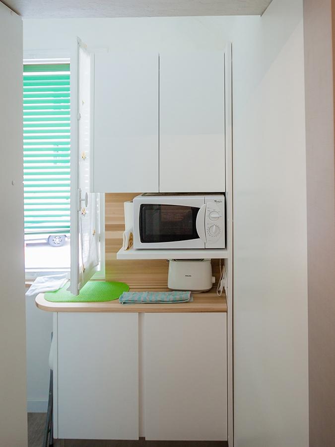 cucina piano legno