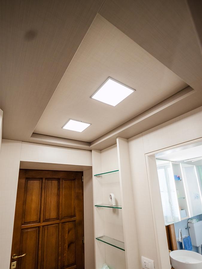 ampi soffitti controsoffitto chiuso