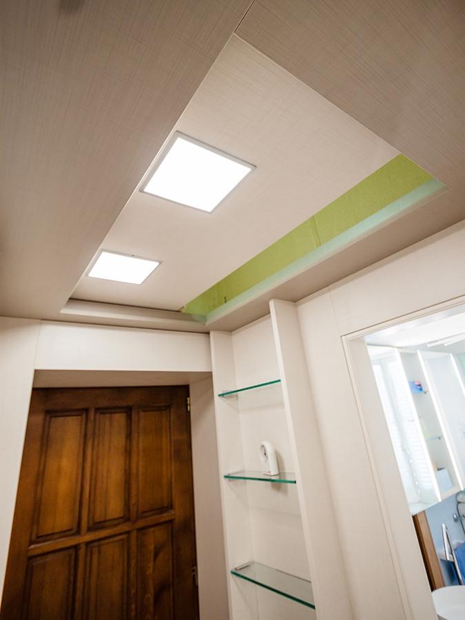 ampi soffitti controsoffitto aperto