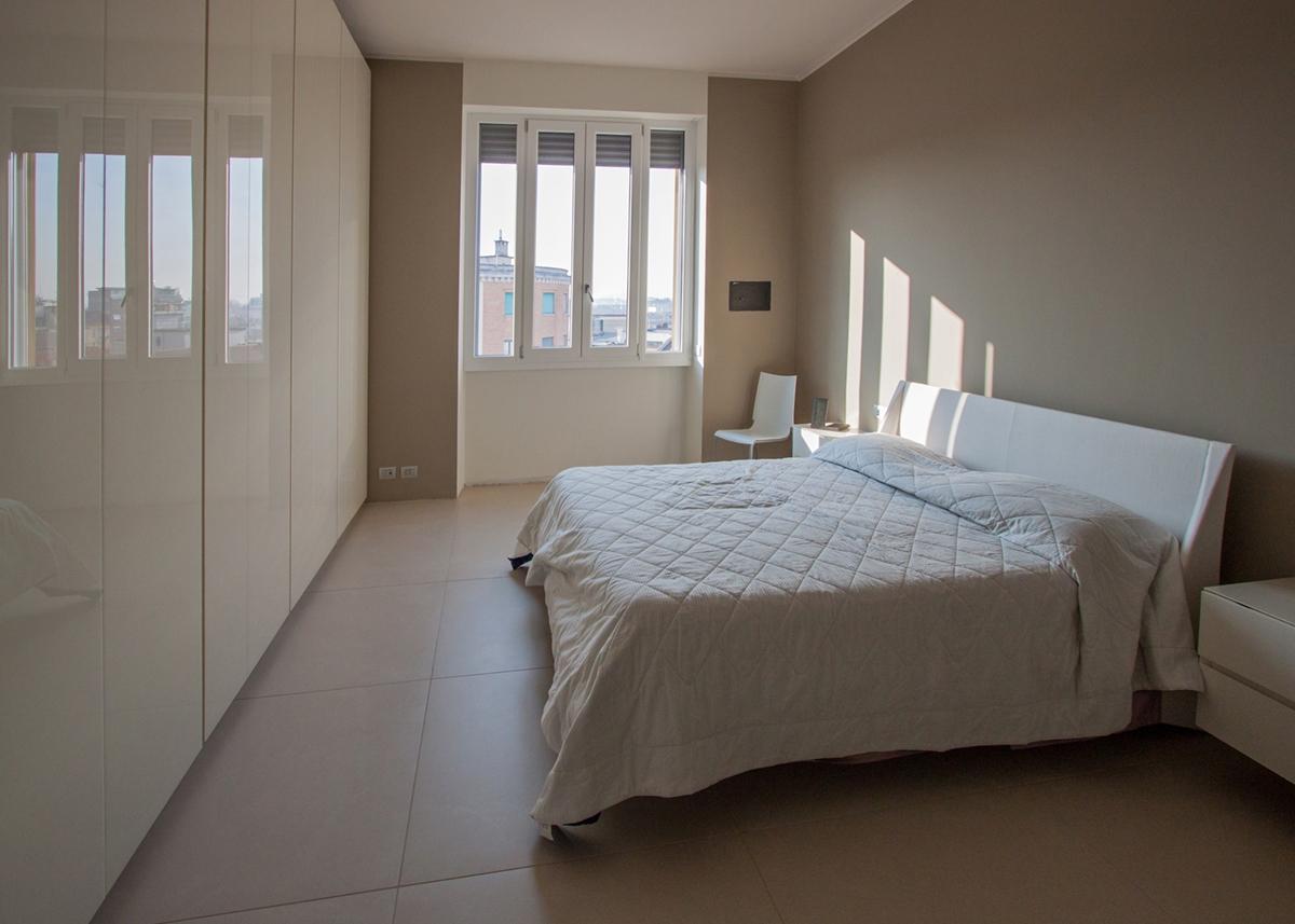 apartment Milan reflections_bedroom 01