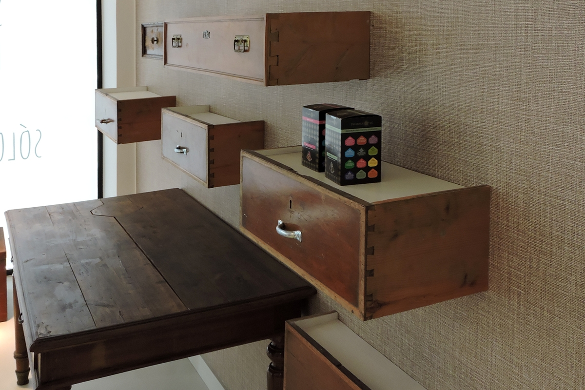 negozio caffè Ibiza zoom cassetti