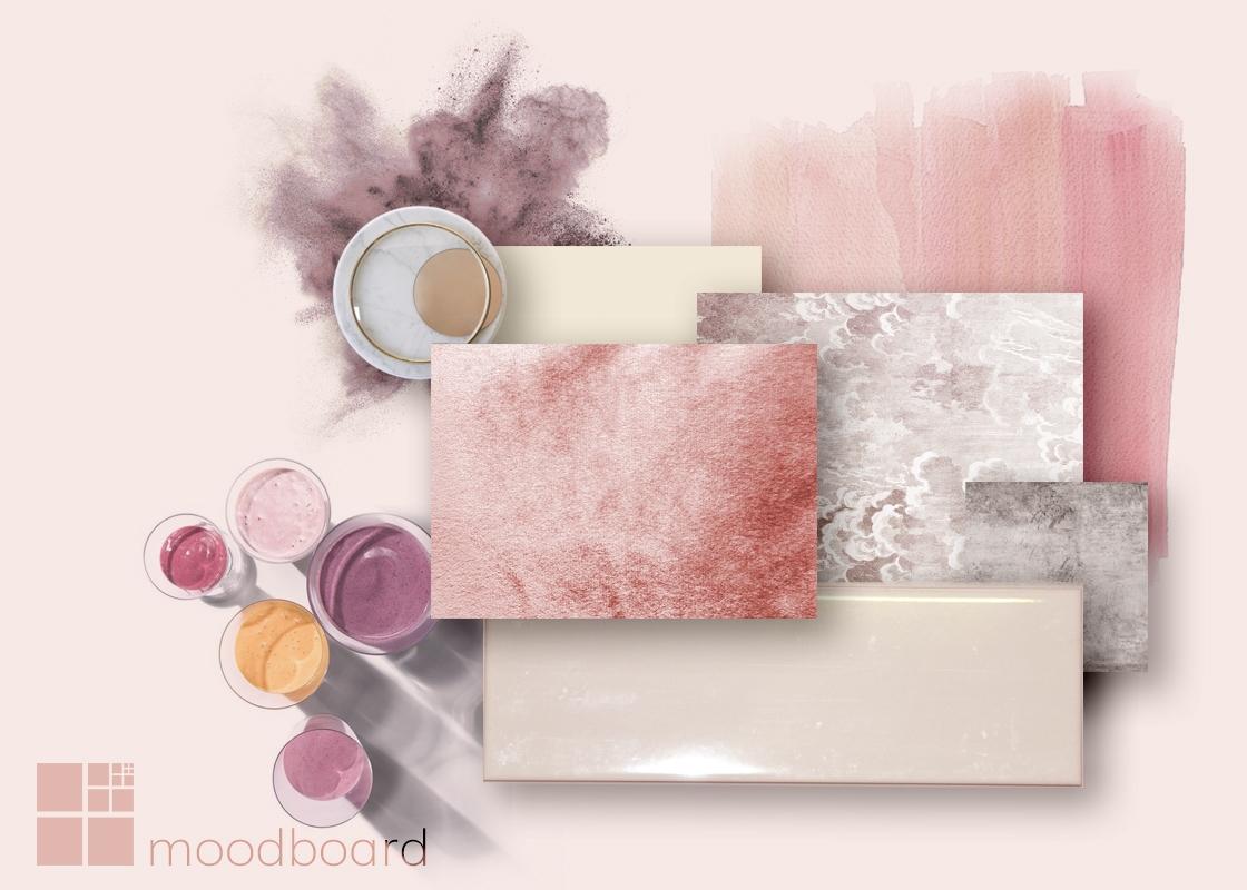 Modulor Moodboard rosa