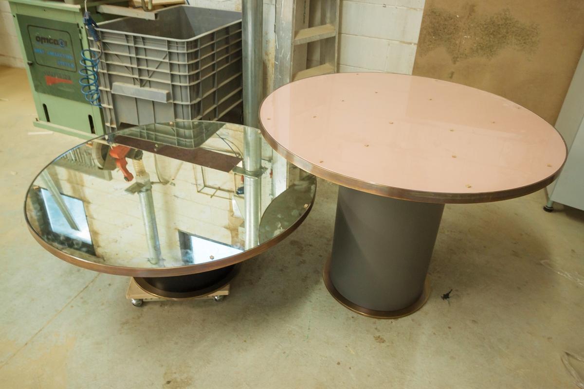 bronzed brass furniture accessories