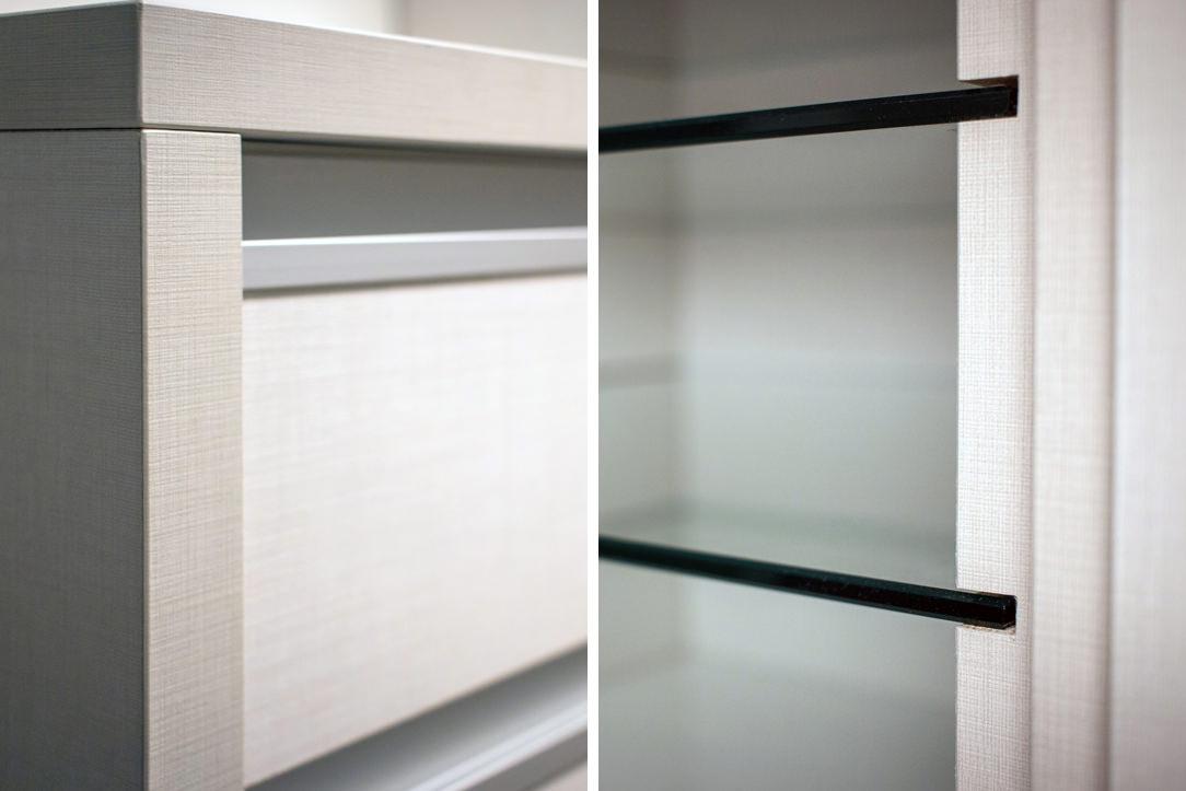 appartamento Bergamo cabina armadio dettagli