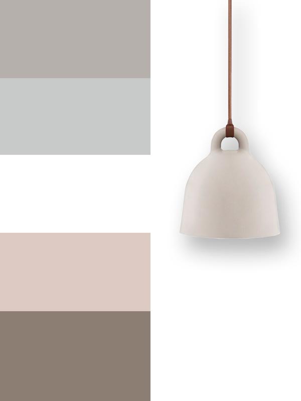 stile scandinavo palette Modulor
