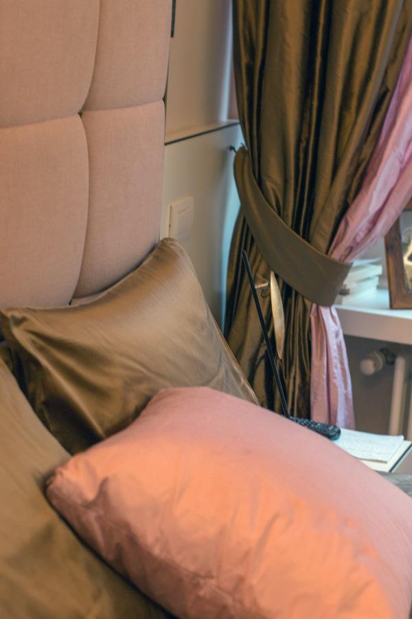 tessuti luxury appartamento Milano