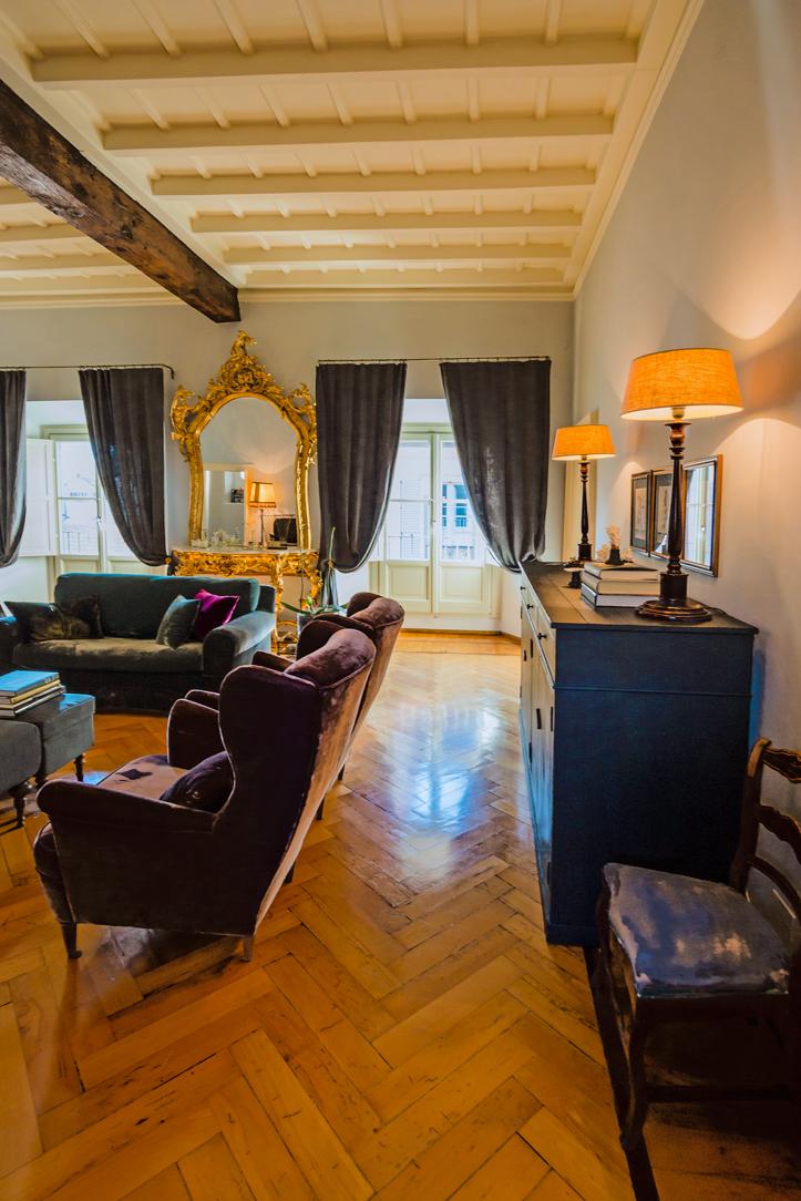 soggiorno stile Parigino