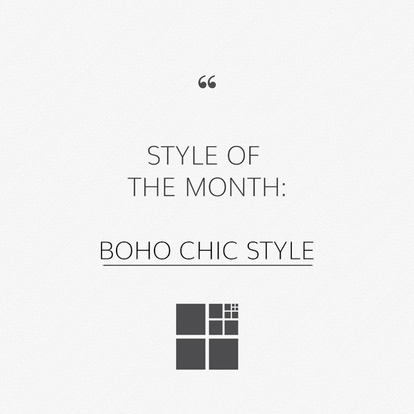 Boho Chic Style: a mix of vintage and modern