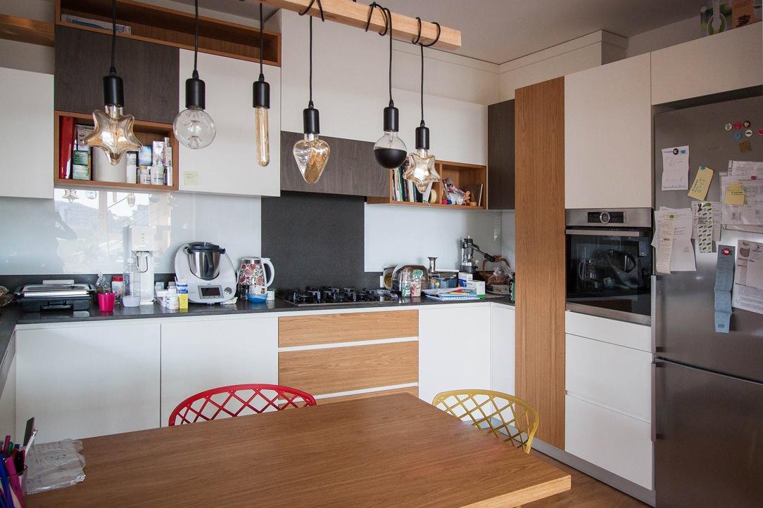 cucina tavolo legno rovere