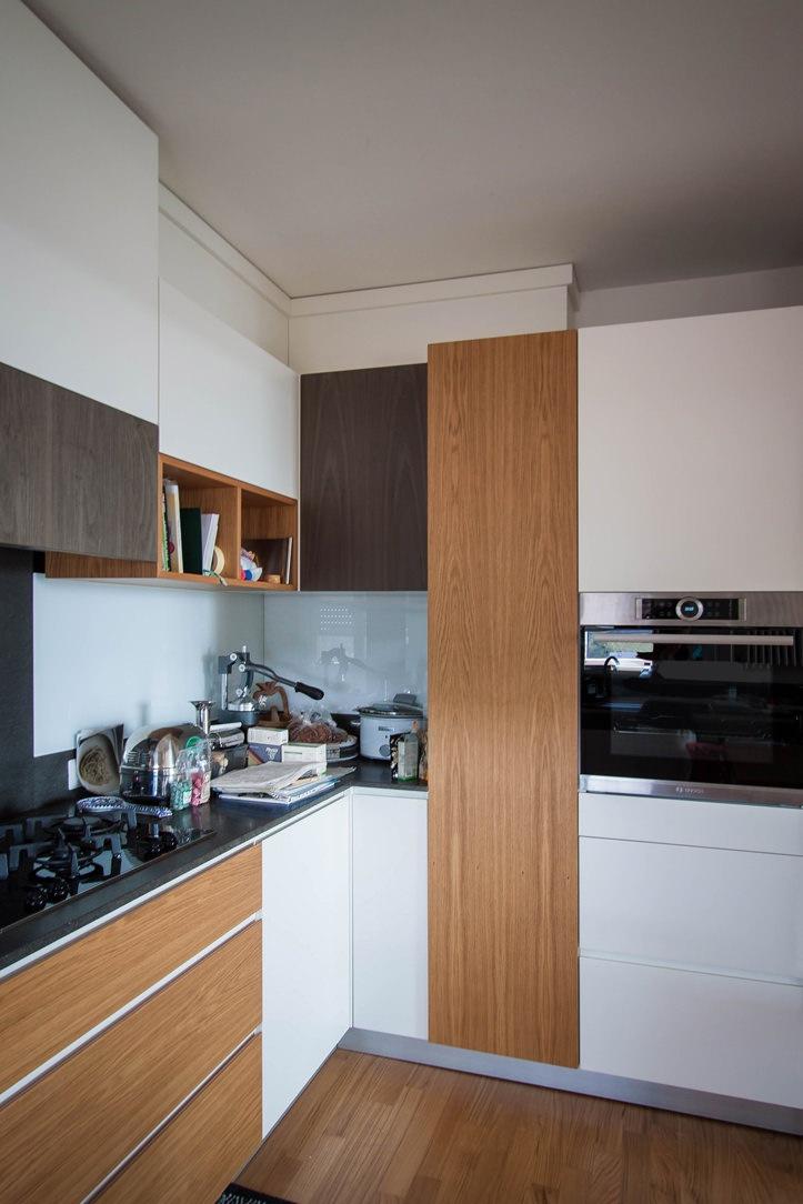cucina lato ante rovere