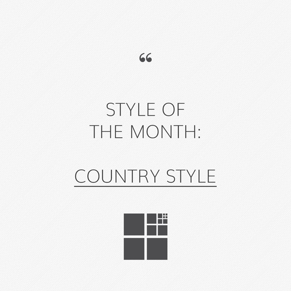 Country style: the countryside at home