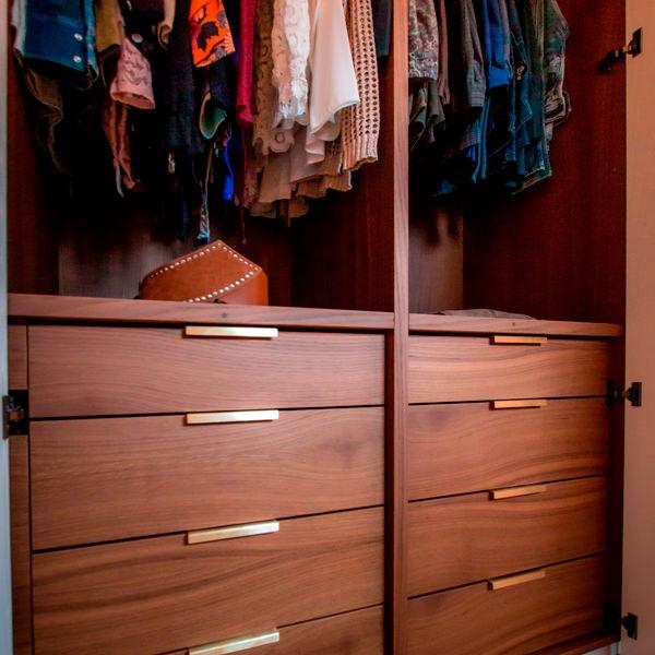 Progettare un armadio: dalla configurazione interna alle finiture