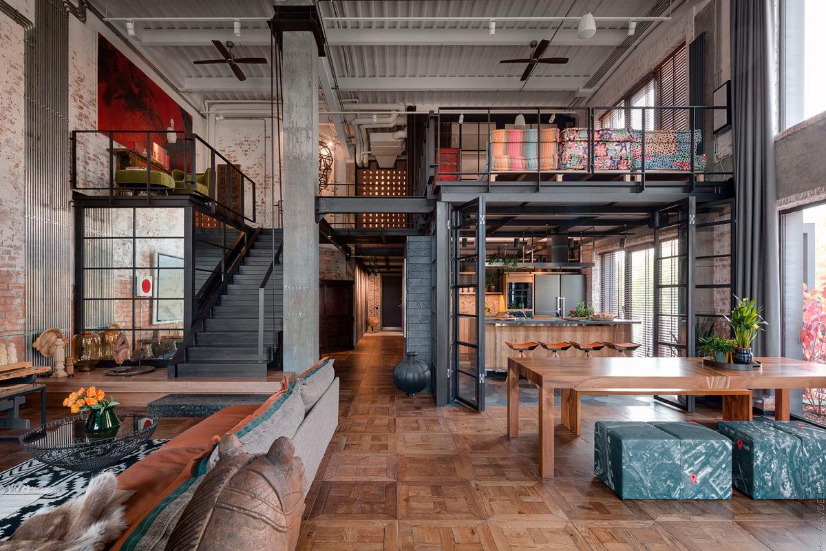 loft rustico tradizionale