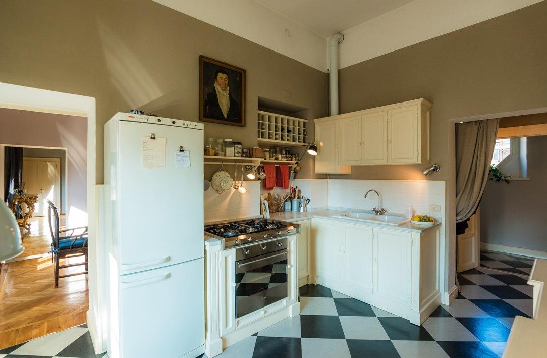 cucina classica panna