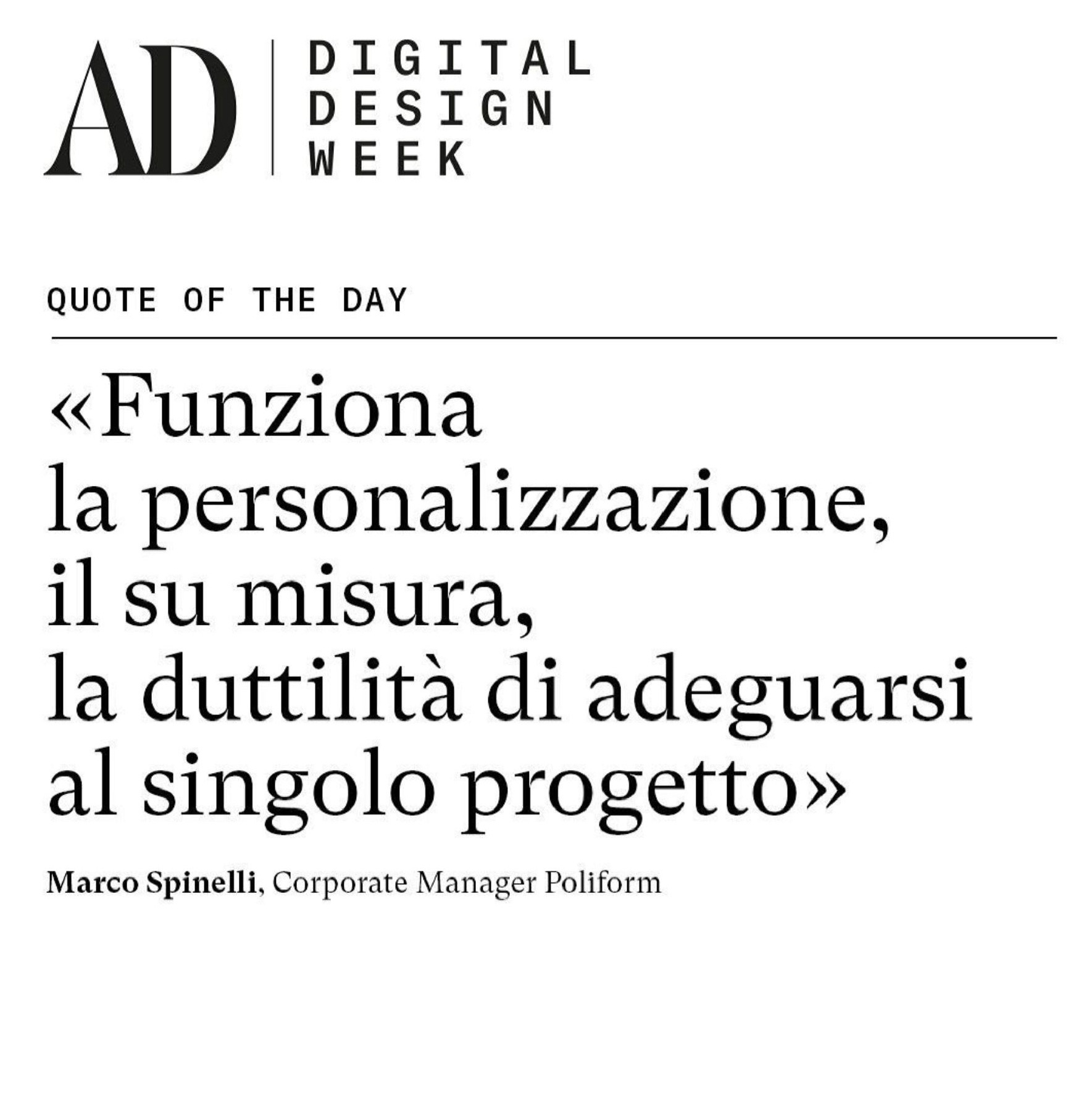 Digital-Design-Week-quote-custom-Marco-Spinelli-Poliform