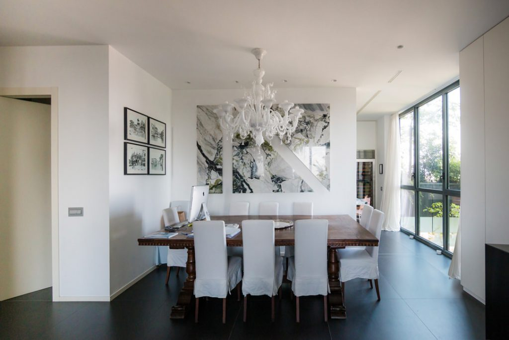 tavolo pranzo e marmo