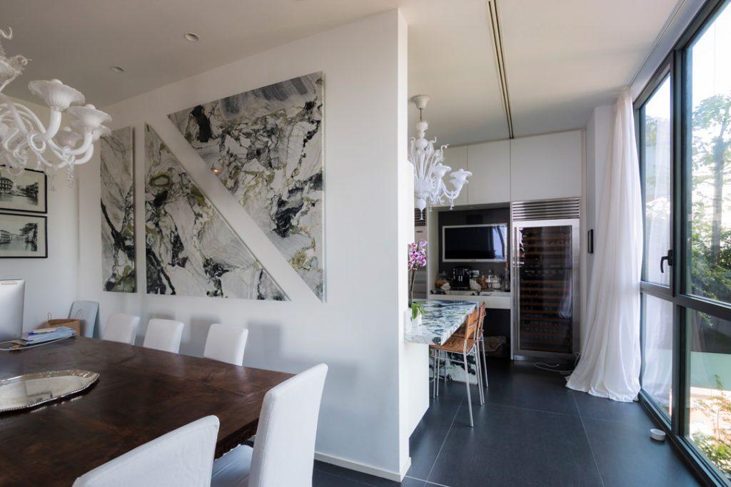 marmo wasabi parete