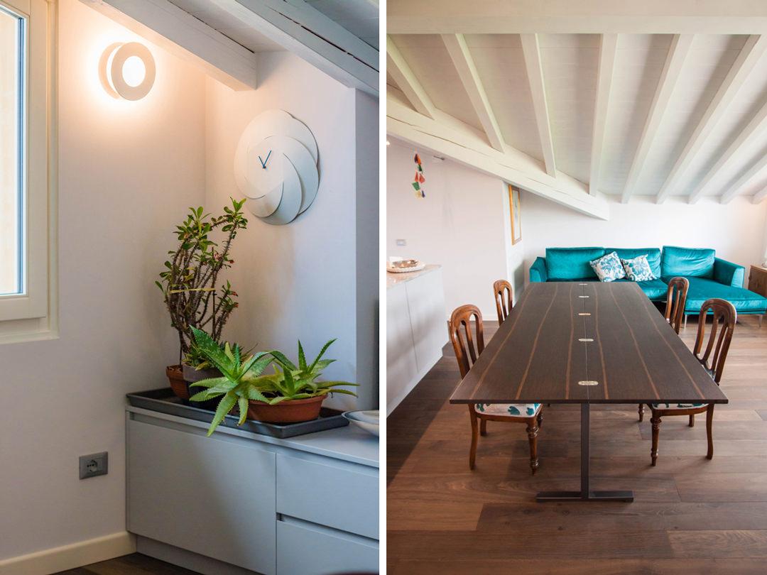 mobile-tv-cassettoni-ante-angolo-verde-tavolo-allungabile-legno