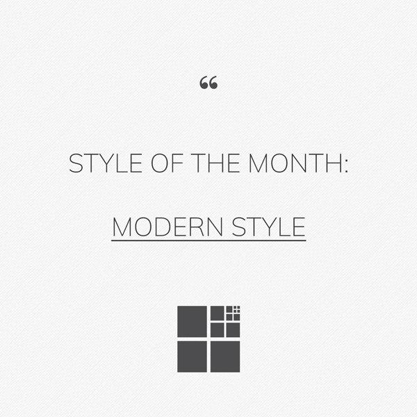 Modern style: rigorous, elegant and prestigious