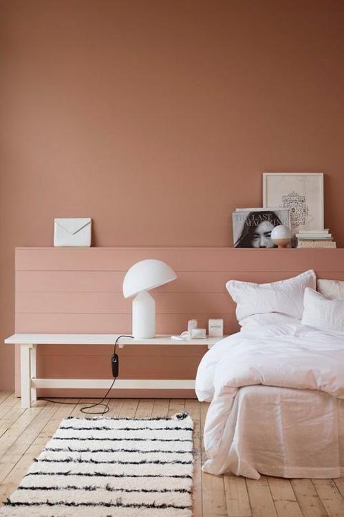 camera-matrimoniale-color-terracotta-arredamento-stile-contemporaneo