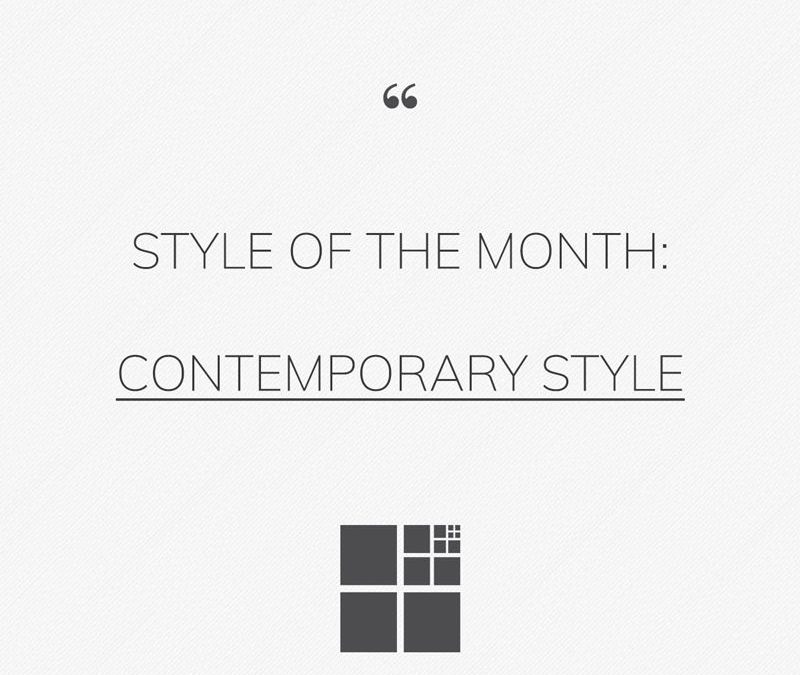 The contemporary style: the world of furniture nowadays