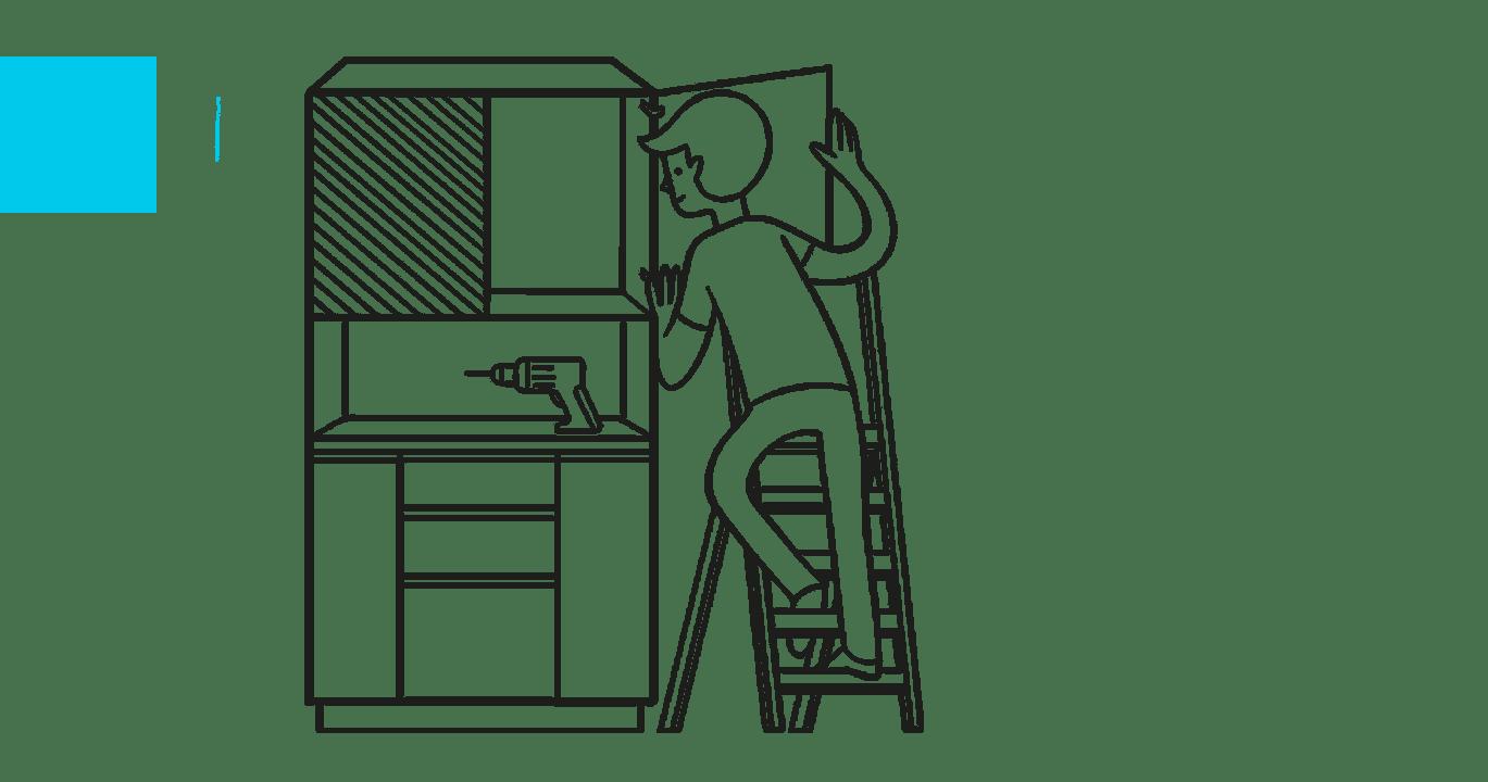 falegnameria su misura montaggio