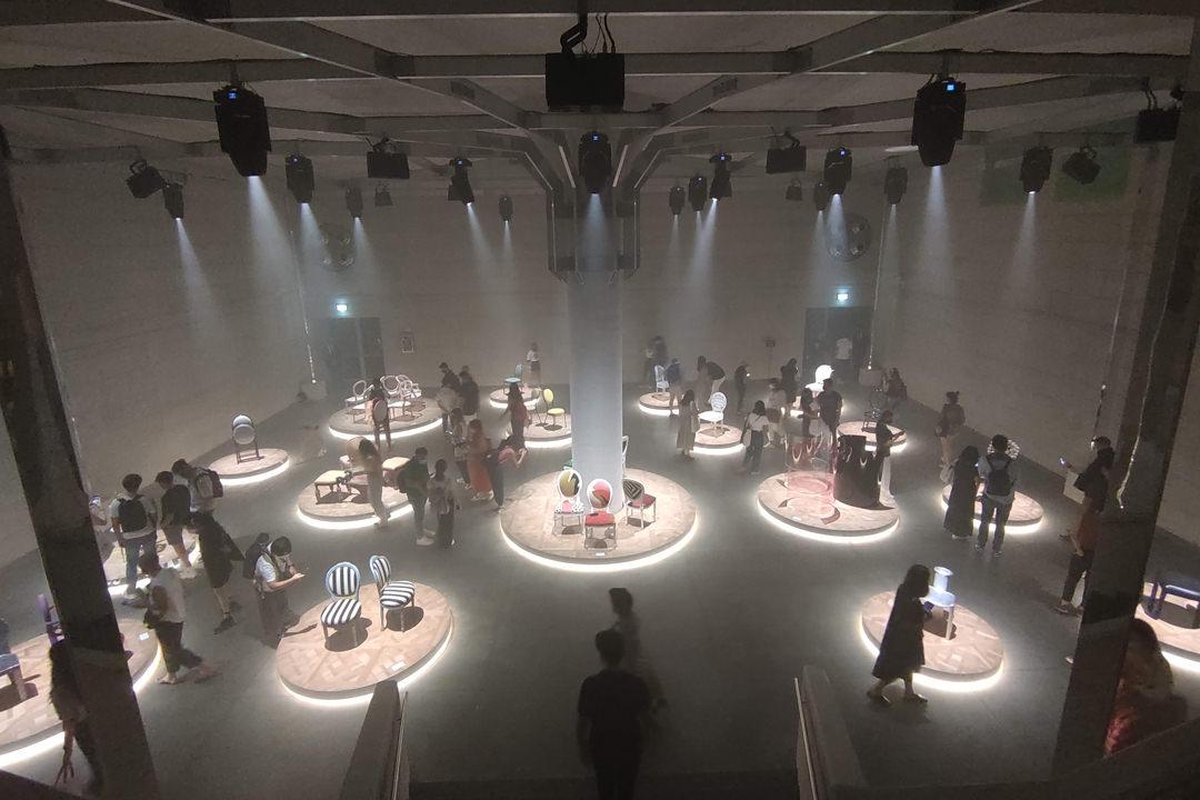 Milan Design Week 2021 Dior medallion Chair
