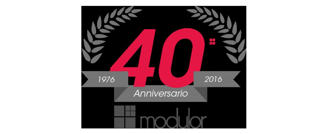 40° Anniversario Modulor