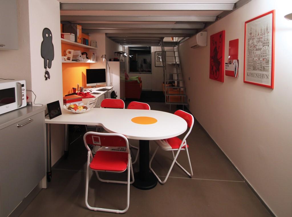 Tavolo omelette modulor - Tavolo a muro cucina ...