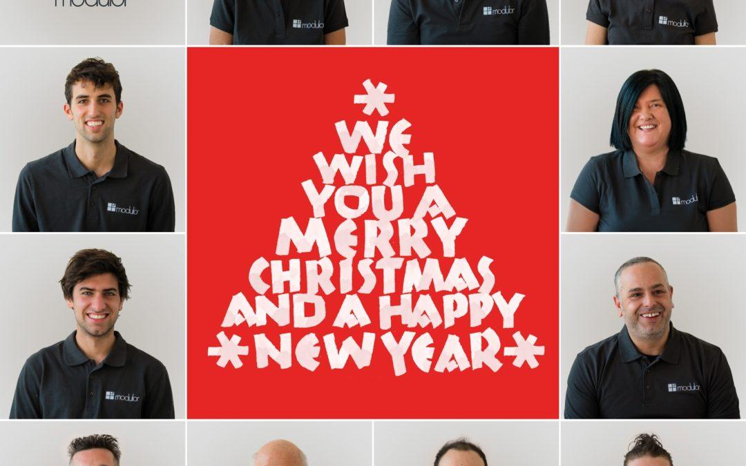 I nostri migliori Auguri di Buon Natale e Felice Anno Nuovo